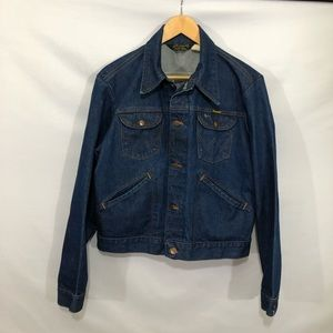 Vintage denim jacket trucker 42 chest